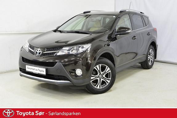 Toyota RAV4 2,0 4WD Executive CVT bensin/automat  2014, 40500 km, kr 339000,-
