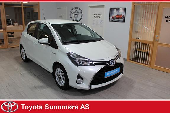 Toyota Yaris 1,5 Hybrid Active S e-CVT **LAV KM**NYBILGARANTI**RYGGE  2016, 16041 km, kr 169000,-