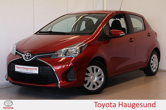 Toyota Yaris 1,0 Active S Navi, kamera, DAB+, Bluetooth, Tectyl  2015, 48390 km, kr 135000,-