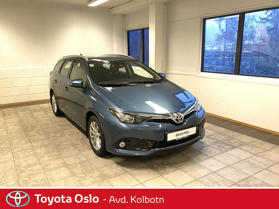 Toyota Auris Touring Sports 1,2 Active  2015, 65 100 km, kr 179 000,-
