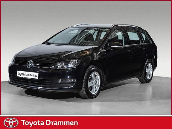 Volkswagen Golf 1,6 TDI 110hk Highline DSG  2015, 112270 km, kr 165000,-