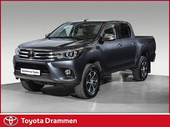 Toyota HiLux D-4D 150hk D-Cab 4WD SR+ aut  2018, 10565 km, kr 439000,-