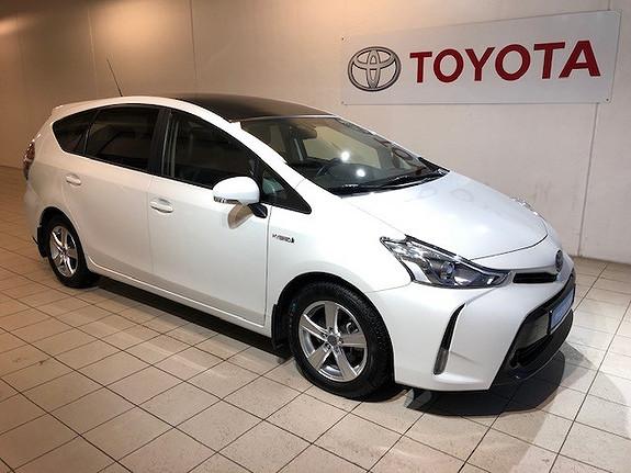 Toyota Prius+ Seven 1,8 Hybrid Executive Skyview  2018, 20024 km, kr 349000,-