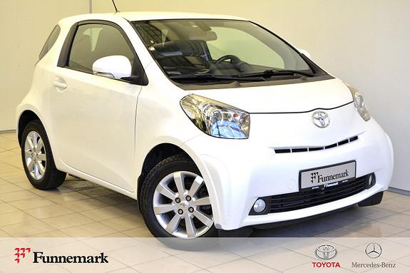 Toyota IQ 1,0 VVT-i iQ2 Lettkjørt og snerten- Eu og service OK!  2010, 123000 km, kr 49000,-