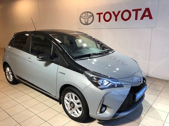 Toyota Yaris 1,5 Hybrid Bi-Tone Cement  2018, 8251 km, kr 238000,-