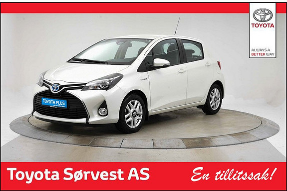Toyota Yaris 1,5 Hybrid Active S e-CVT  2016, 46803 km, kr 179000,-