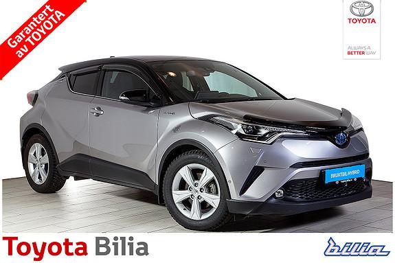 Toyota C-HR 1,8 Hybrid automat, tøff bil, Meget pen,5 dørs,  2018, 20907 km, kr 317000,-