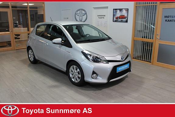 Toyota Yaris 1,5 Hybrid Active **LAV KM**VELHOLDT**GOD SERVICEHISTOR  2012, 69600 km, kr 109000,-