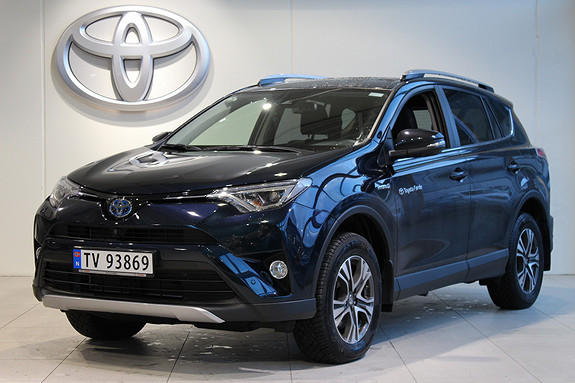 Toyota RAV4 2,5 Hybrid Executive AWD  2018, 9800 km, kr 458000,-