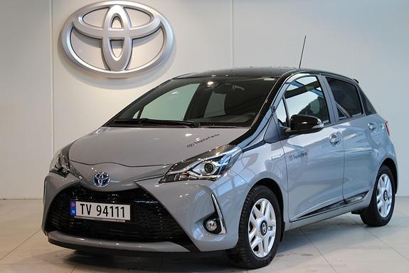 Toyota Yaris 1,5 Bi-Tone Hybrid  2018, 4700 km, kr 239000,-