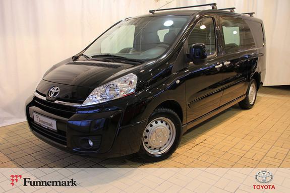 Toyota Proace 2,0 128hk L2H1 (m/bakluke)  2015, 60253 km, kr 164000,-