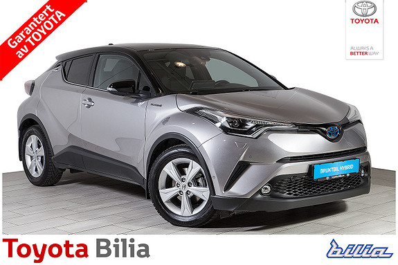 Toyota C-HR 1,8i Hybrid Lounge Tech , automat, sensorer  2018, 17600 km, kr 329000,-