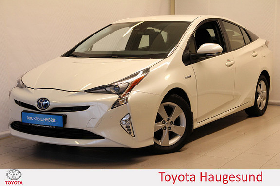 Toyota Prius 1,8 VVT-i Hybrid Executive Navi, kamera, DAB+, Tectyl  2017, 21335 km, kr 279000,-