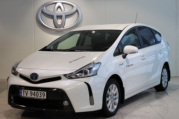 Toyota Prius+ Seven 1.8 Hybrid Executive  2018, 4400 km, kr 348000,-