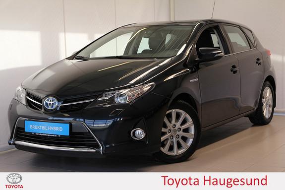 Toyota Auris 1,8 Hybrid E-CVT Active+ Navi, Bi-Xenon, DAB+, Tectyl  2014, 76750 km, kr 169000,-