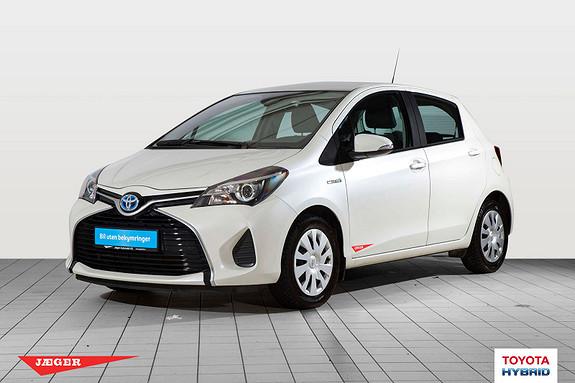 Toyota Yaris 1,5 Hybrid Active S e-CVT med navigasjon  2015, 25600 km, kr 174000,-