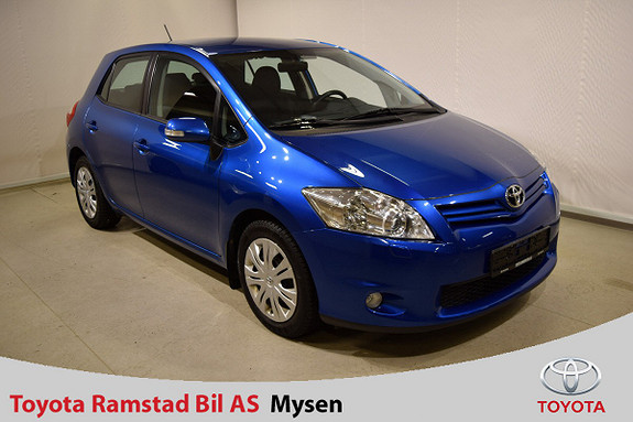 Toyota Auris 1,33 Dual VVT-i Stop&Start Advance - Velholdt!  2010, 64800 km, kr 89900,-