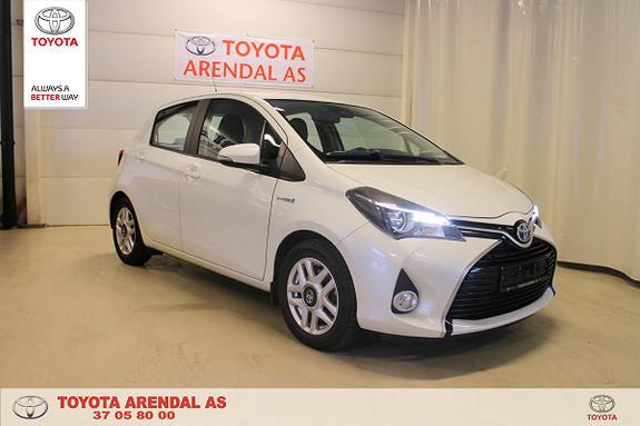 Toyota Yaris 1,5 Hybrid Active e-CVT  2016, 43300 km, kr 159000,-