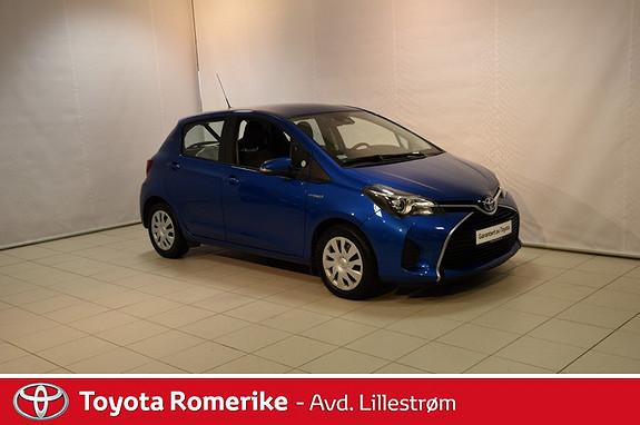 Toyota Yaris 1,5 Hybrid Active S e-CVT  2017, 62978 km, kr 169000,-