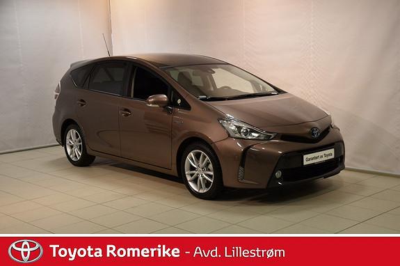 Toyota Prius+ Seven 1,8 VVT-i Hybrid Premium  2018, 4893 km, kr 379000,-