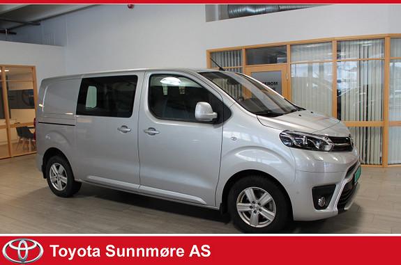 Toyota Proace 2,0 D 122 Comfort Plus L1H1 Lav km, Medium  2018, 5785 km, kr 309000,-
