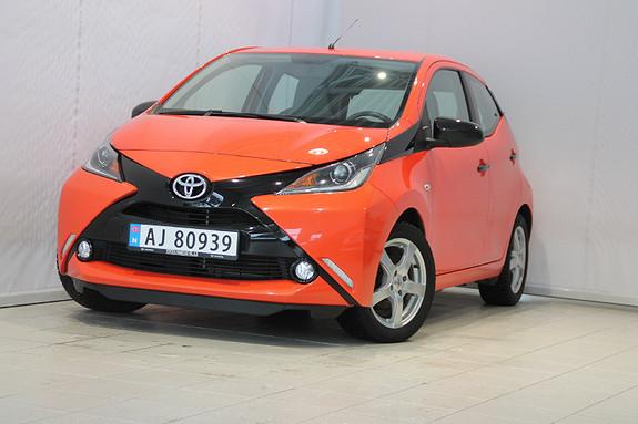 Toyota Aygo x-cite 1,0  2014, 45300 km, kr 109000,-