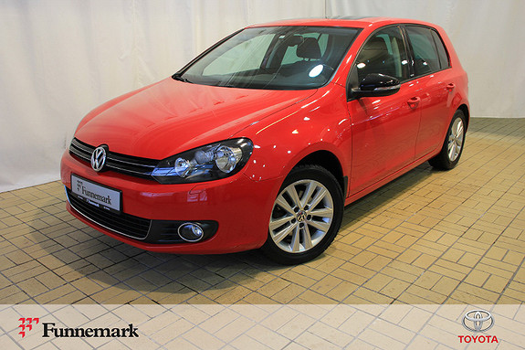 Volkswagen Golf 1,6 TDI 105hk Style BMT  2012, 74289 km, kr 119000,-