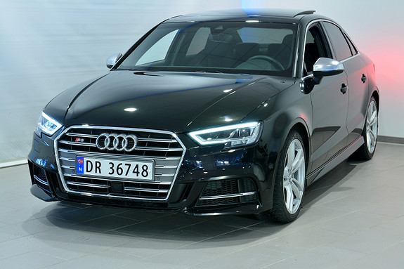 Audi S3 LIM 310 HK TFSI Q/S  2018, 16000 km, kr 689000,-