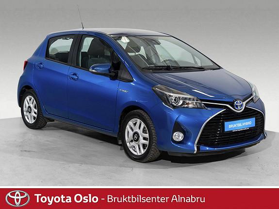Toyota Yaris 1,5 Hybrid Active e-CVT LAV KM!  2015, 22027 km, kr 162900,-