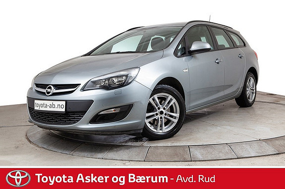 Opel Astra 1,6 110hk CDTi ecoFLEX Cosmo  2014, 51500 km, kr 159000,-