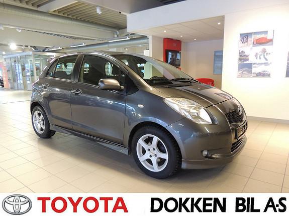 Toyota Yaris 1,4 D-4D Sol  2008, 150000 km, kr 49000,-