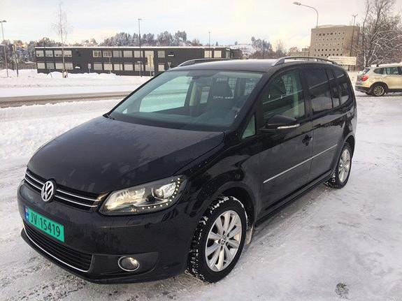 Volkswagen Touran 1,6 105 TDI BMT Highline Webasto, Navi, Skinn  2012, 157000 km, kr 75000,-