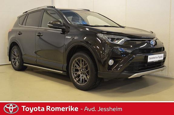 Toyota RAV4 Hybrid AWD Active Style Delskinn, stigtrinn  2016, 48500 km, kr 399000,-