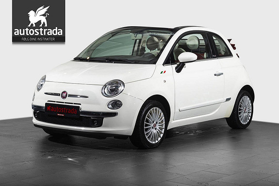 Fiat 500 1.2 Skinn/Radio/cd+++  2014, 34900 km, kr 125000,-