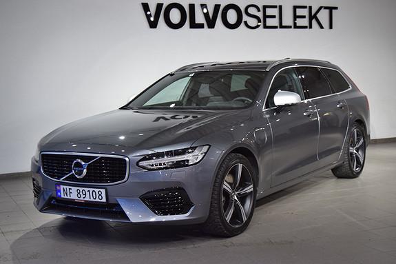 Volvo V90 T8 407hk R-Design AWD aut , Fantastisk bil, mye utstyr  2018, 20700 km