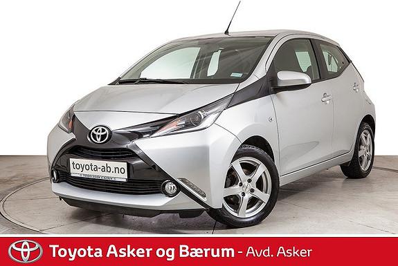 Toyota Aygo x-play 1,0 Ryggekamera  2016, 33800 km, kr 132000,-
