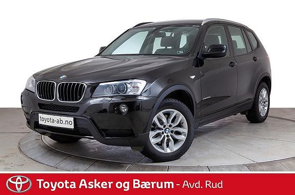 BMW X3 xDrive20d 163hk Automat  2013, 89837 km, kr 279000,-