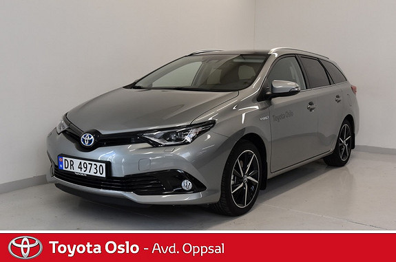 Toyota Auris Touring Sports 1,8 Hybrid Style Edition  2018, 4894 km, kr 299900,-
