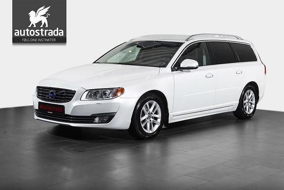 Volvo V70 1.6 D2 Summum DAB/VOC/Spoiler  2014, 76000 km, kr 249000,-