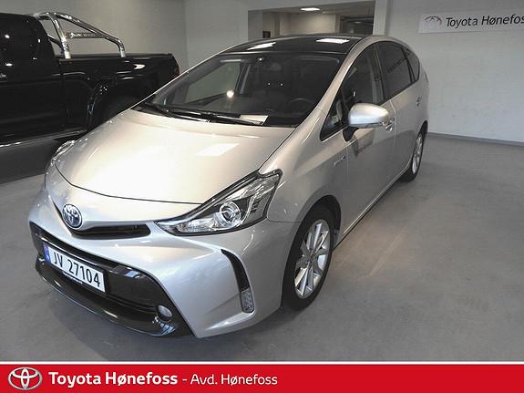 Toyota Prius+ Seven 1,8 VVT-i Hybrid Executive Skyview , Navi, Ryggekam.  2017, 25600 km, kr 329000,-