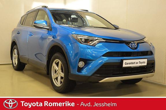 Toyota RAV4 Hybrid 2WD Active Style Delskinn, tilhengerfeste  2016, 30400 km, kr 359000,-