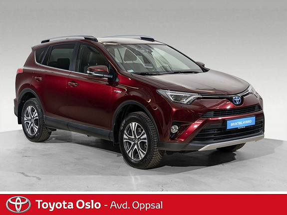 Toyota RAV4 Hybrid AWD Active Style Automat, DAB+, Navi  2018, 6954 km, kr 449900,-