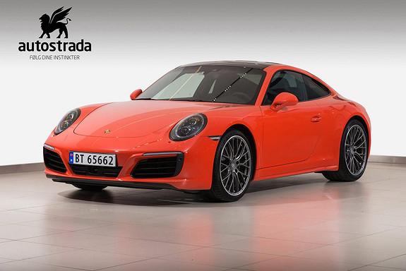Porsche 911 991 Carrera 4 PDK, lift, ACC, DAB+, 18-veis, Norges fine  2017, 13500 km, kr 1399000,-