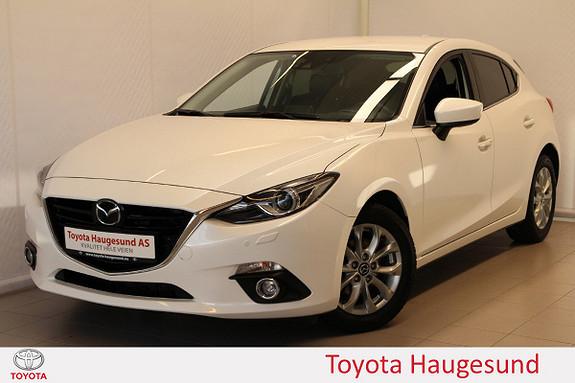 Mazda 3 2,0 120hk Optimum aut  2014, 54560 km, kr 185000,-