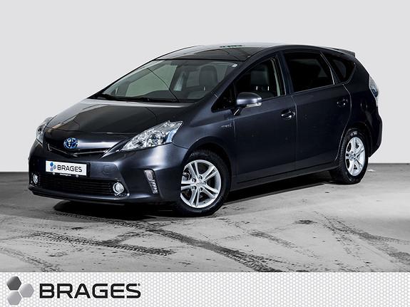 Toyota Prius+ Seven 1,8 VVT-i Hybrid Executive Pano, Skinn, Navi, DAB+  2014, 24200 km, kr 255000,-