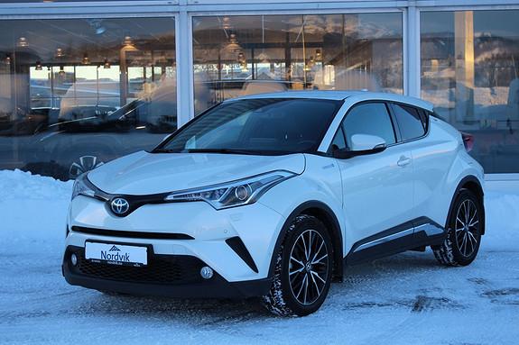 Toyota C-HR 1,8i Hybrid Dynamic Tech Kamera ++  2017, 50058 km, kr 319000,-