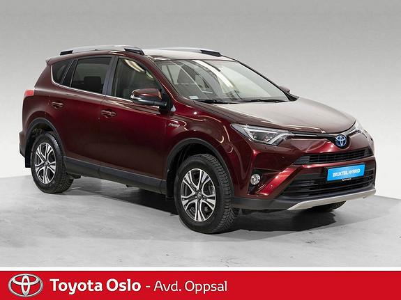 Toyota RAV4 Hybrid AWD 71n Edition Automat, Navi, DAB+  2018, 20920 km, kr 439900,-