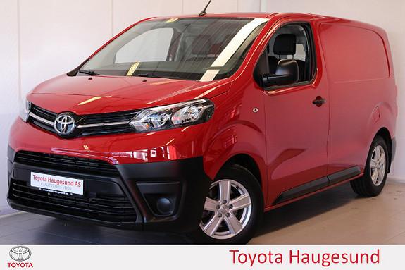 Toyota Proace 1,6 D 95 Basic L0H1 3-seter, Tectyl, S+ V  2018, 4567 km, kr 269000,-