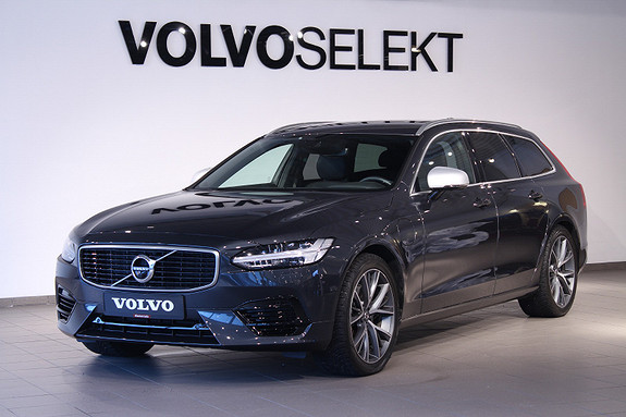 Volvo V90 T8 407hk R-Design AWD aut VOC/Parkeringskamera360 /Krok  2018, 12201 km, kr 659000,-