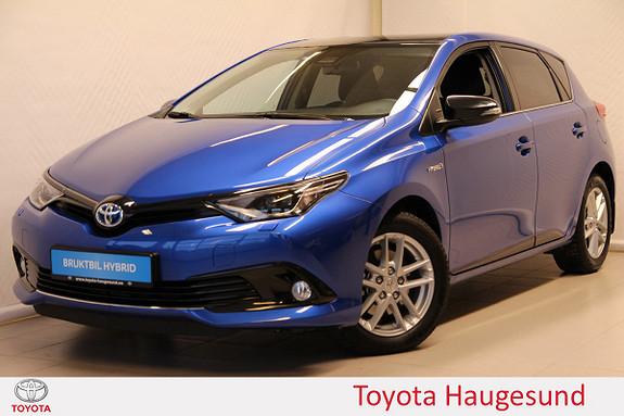 Toyota Auris 1,8 Hybrid E-CVT Sport Vision  2018, 1165 km, kr 289000,-